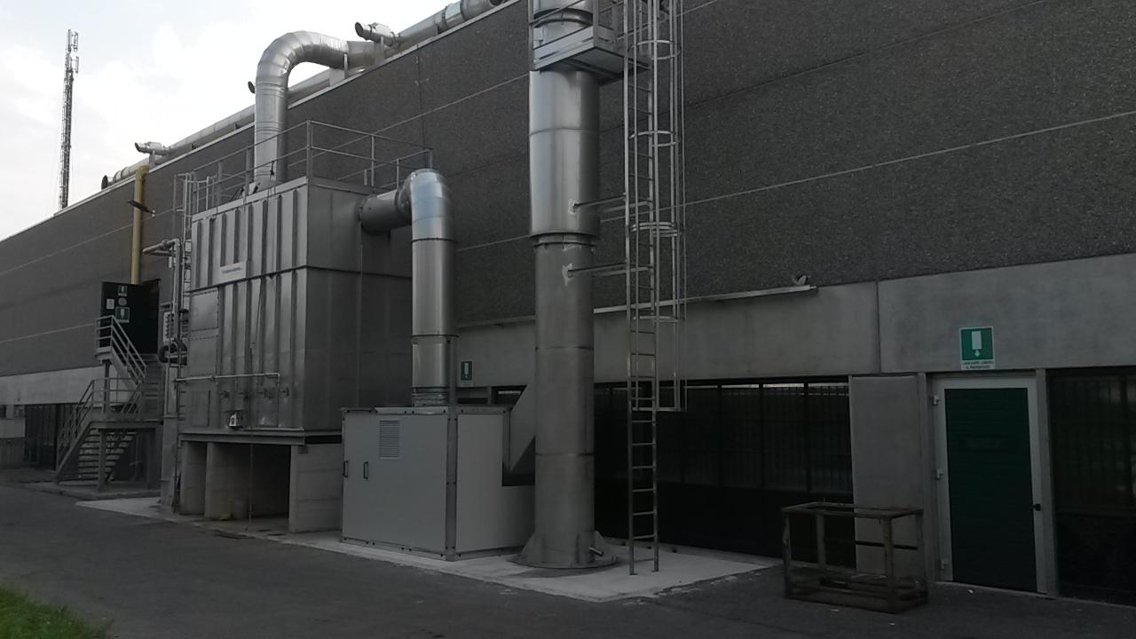 Consegna ed avviamento di un impianto a coalescenza