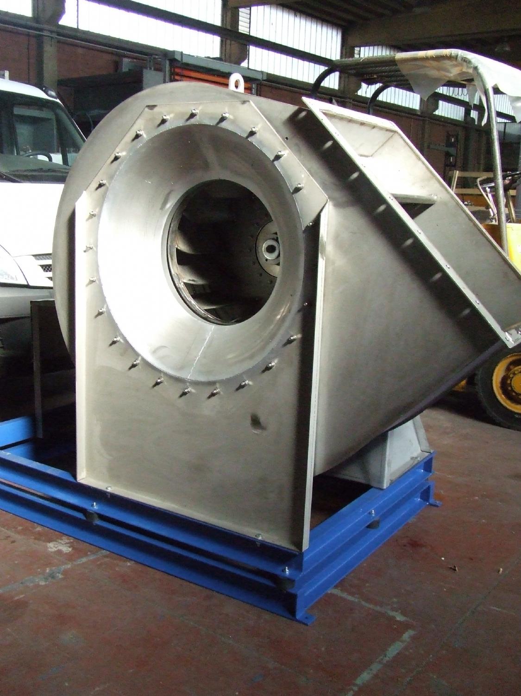 Consegna ventilatore centrifugo